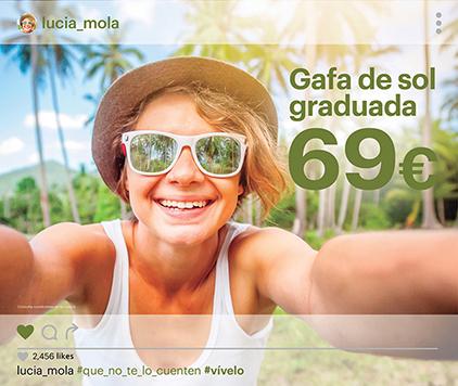 Gafa de sol graduada 69€