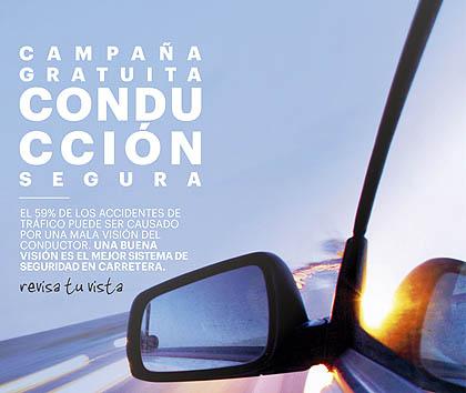 Una buena visión es el mejor sistema de seguridad en la carretera.